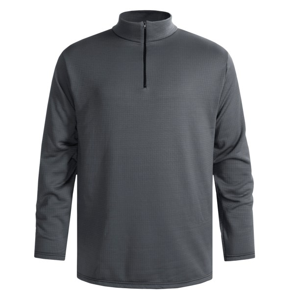 photo: Wickers Expedition Weight Long Sleeve Top - Zip Neck base layer top