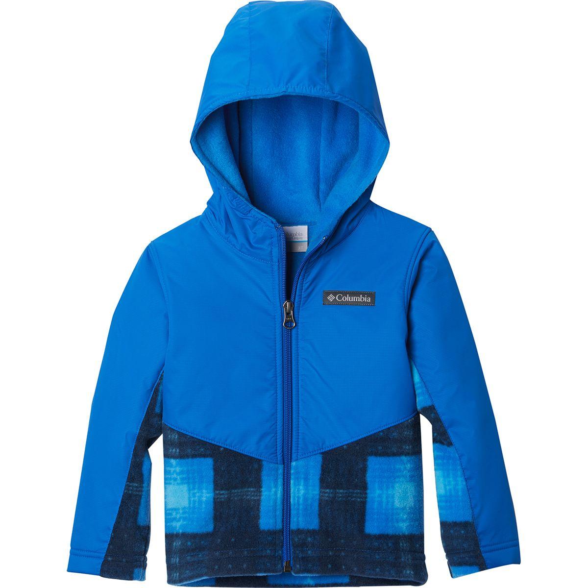 photo: Columbia Steens Mountain Overlay Hoodie fleece jacket