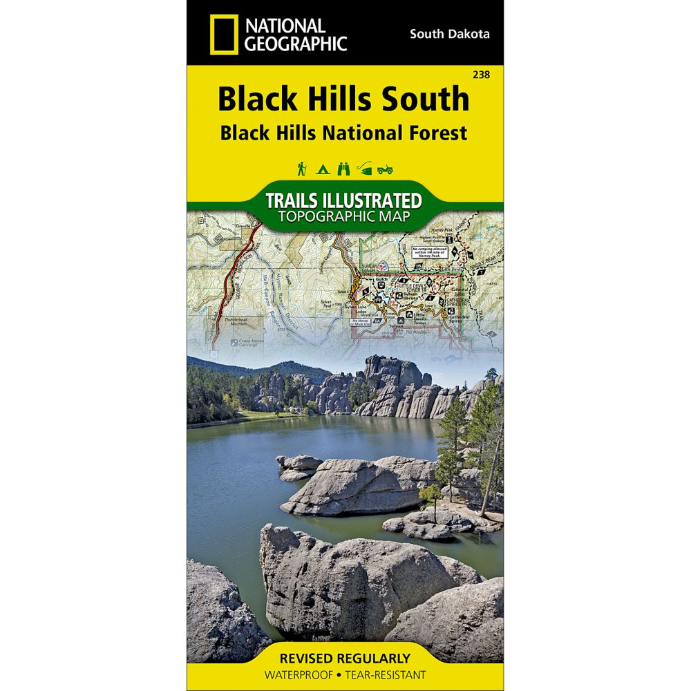 National Geographic Black Hills Southeast