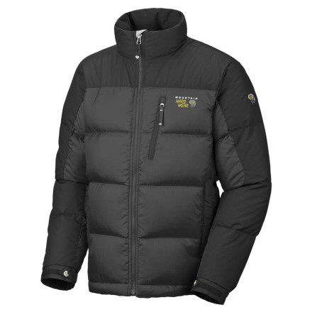 photo: Mountain Hardwear Men's Sub Zero Jacket down insulated jacket