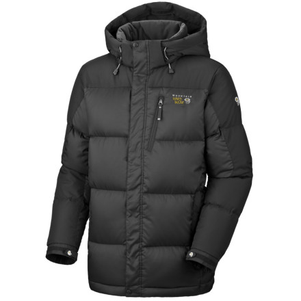 photo: Mountain Hardwear Men's Sub Zero Parka down insulated jacket