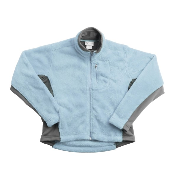 White Sierra Tech Fleece Jacket