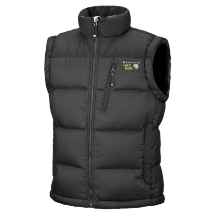photo: Mountain Hardwear Women's Sub Zero Vest down insulated vest