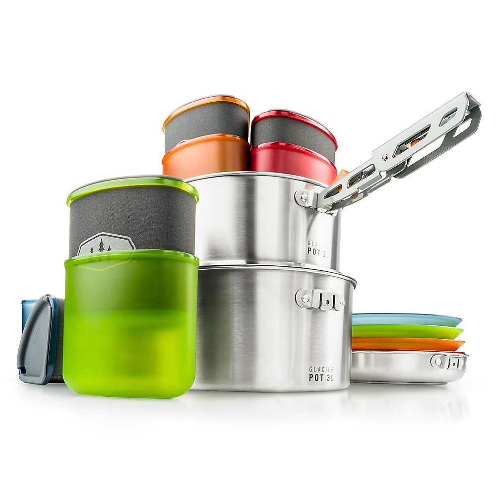 photo: GSI Outdoors Glacier Stainless Camper pot/pan
