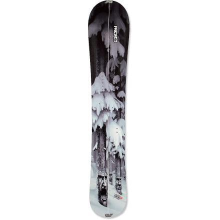 photo: Prior Khyber Splitboard splitboard