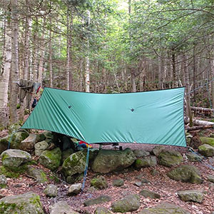 photo: UGQ SilPoly Rectangular Cat Cut Tarp (10x12) tarp/shelter