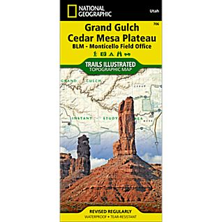 National Geographic Grand Gulch Plateau Map