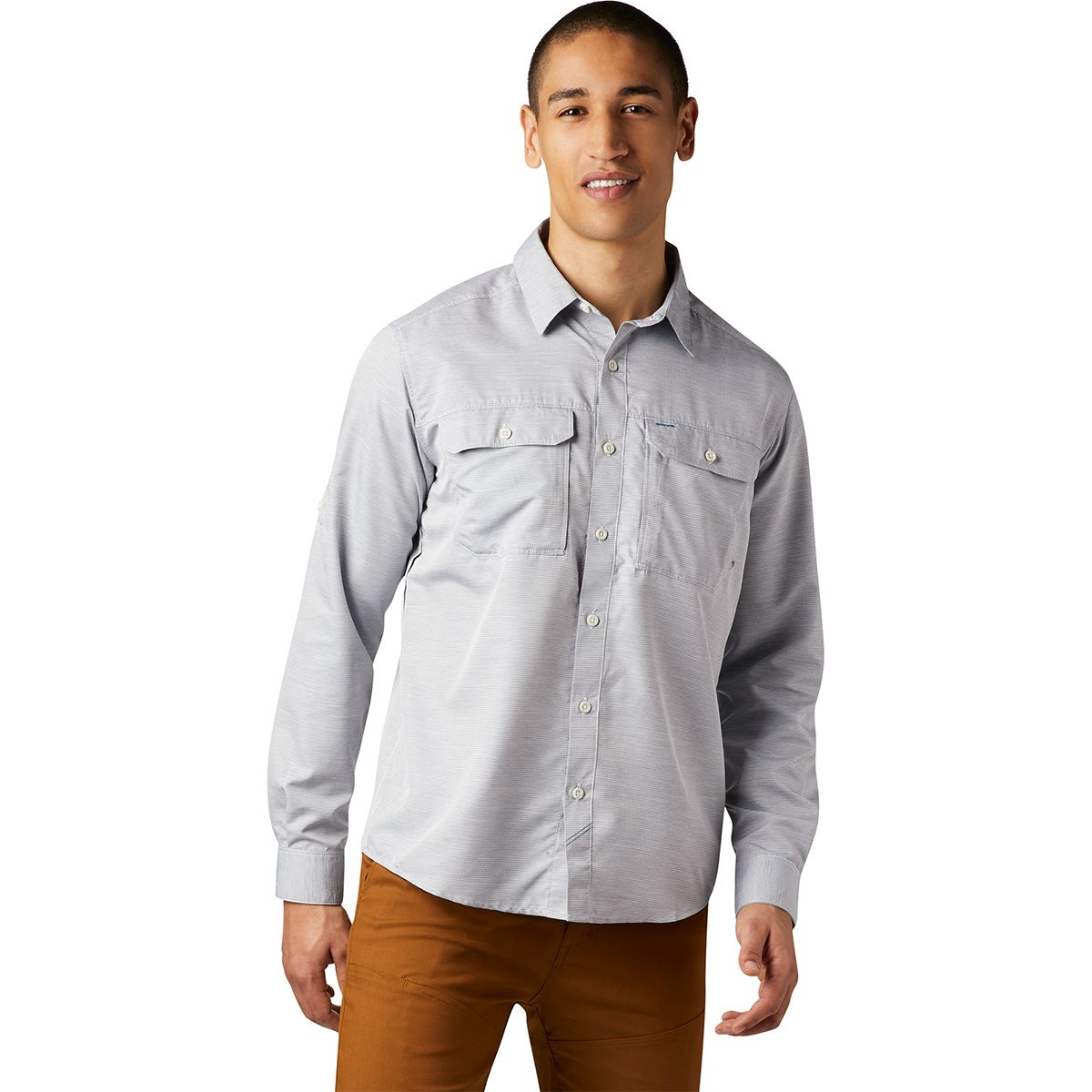 photo: Mountain Hardwear Canyon Shirt Long Sleeve hiking shirt