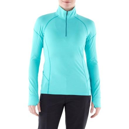 photo: REI Lightweight Quarter-Zip Shirt base layer top