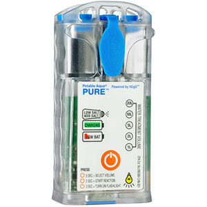 photo of a Potable Aqua water purifier
