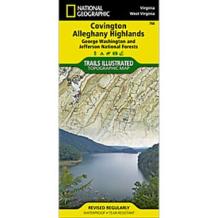 National Geographic Covington/Alleghany Highlands Map