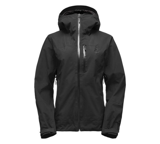 photo: Black Diamond Women's Sharp End Shell waterproof jacket