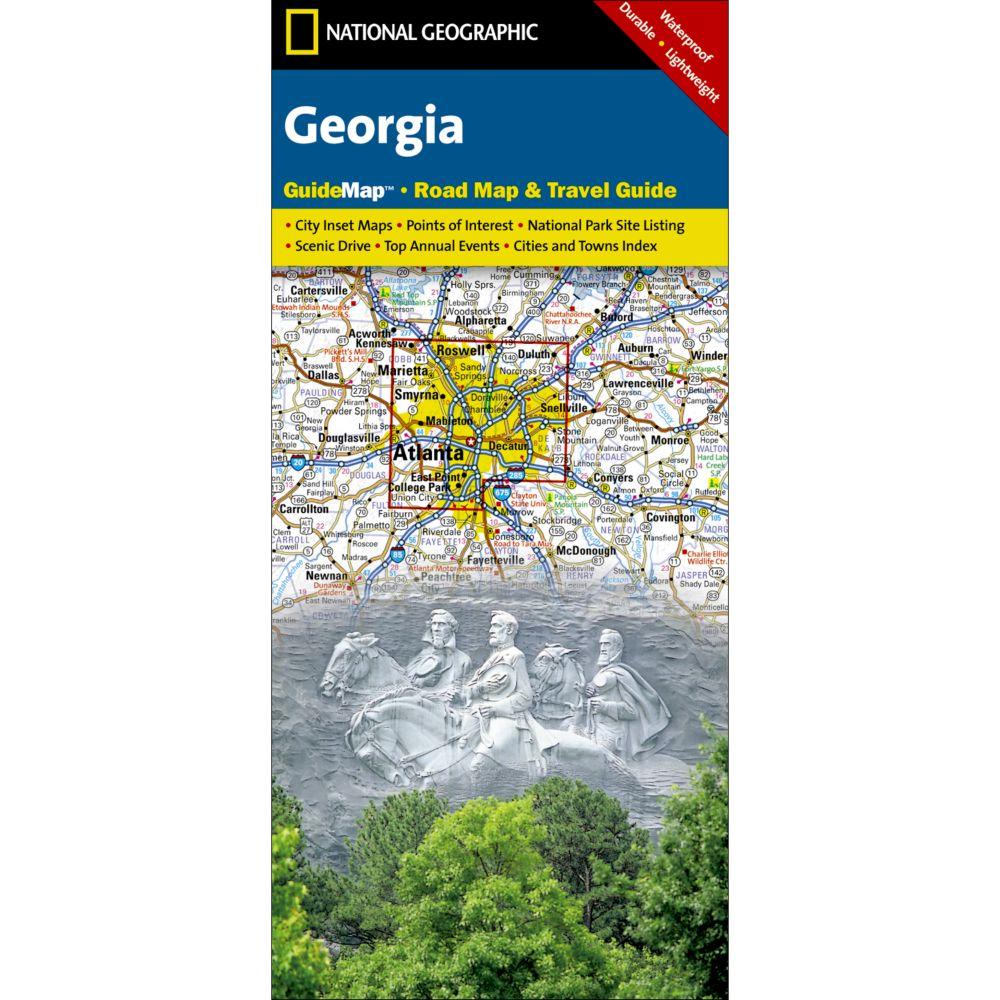 National Geographic Georgia Map