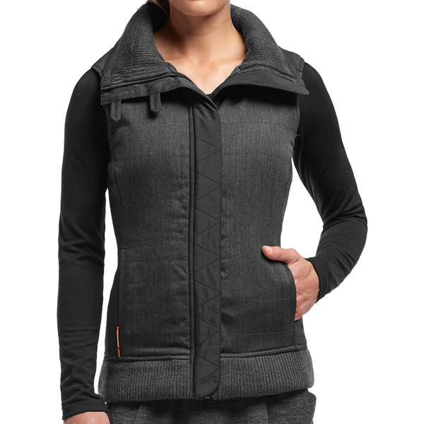 photo: Icebreaker MerinoLOFT Chelsea Vest synthetic insulated vest