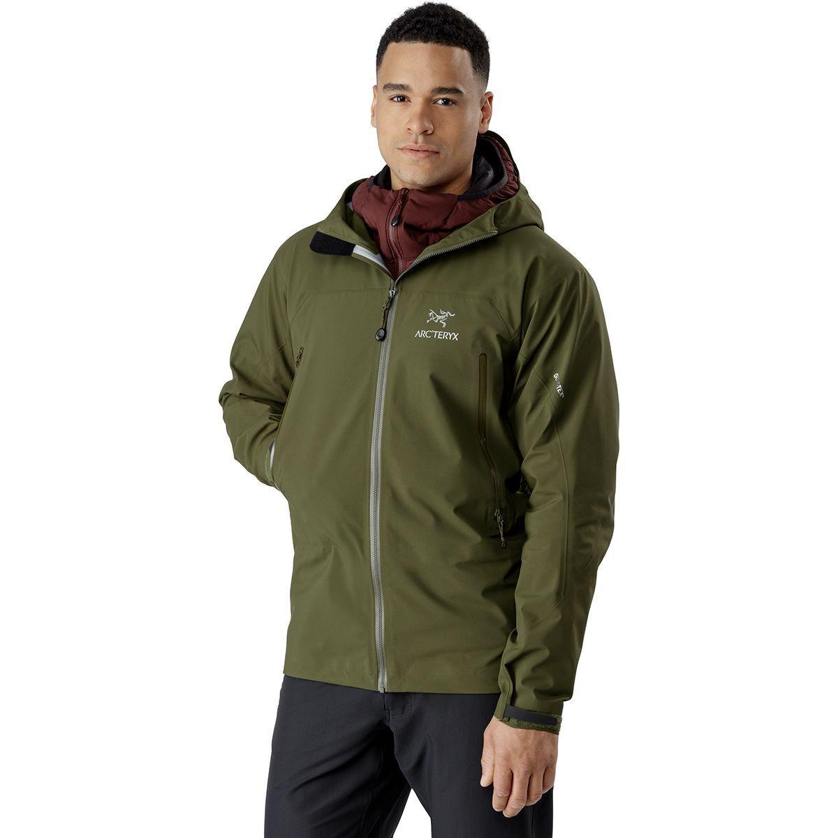 photo: Arc'teryx Men's Zeta AR Jacket waterproof jacket
