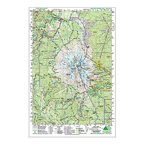 Green Trails Maps Mount Adams Map