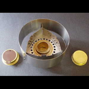 photo of a Clikstand alcohol stove