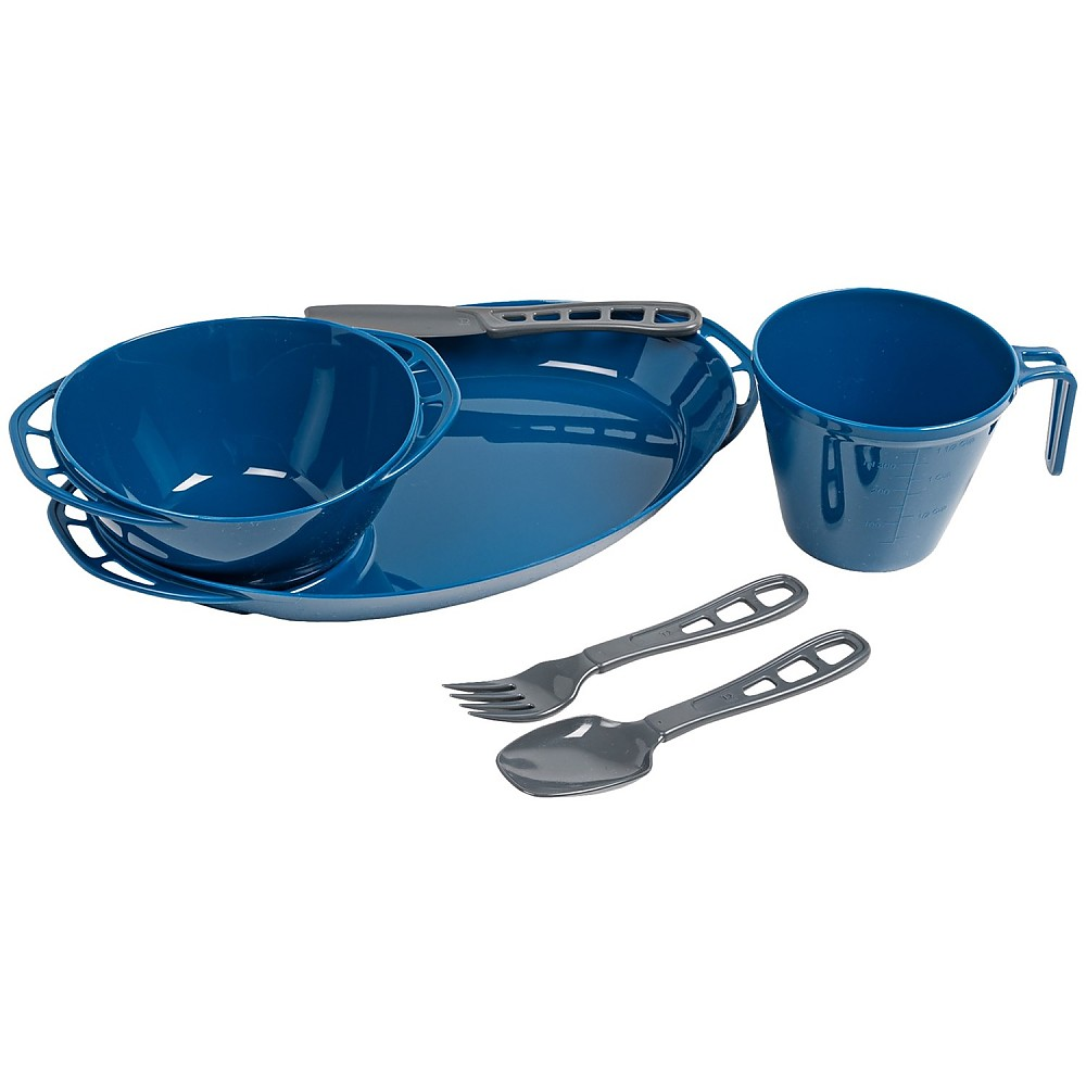 photo: GSI Outdoors Thrive 1 Person Set plate/bowl