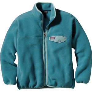 photo: Patagonia Girls' Synchilla Snap-Zip Jacket fleece jacket