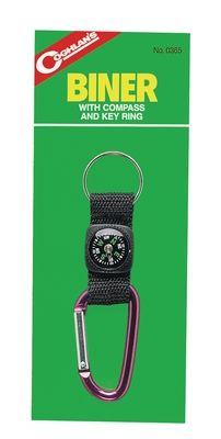 photo: Coghlan's Biner with Compass And Key Ring handheld compass