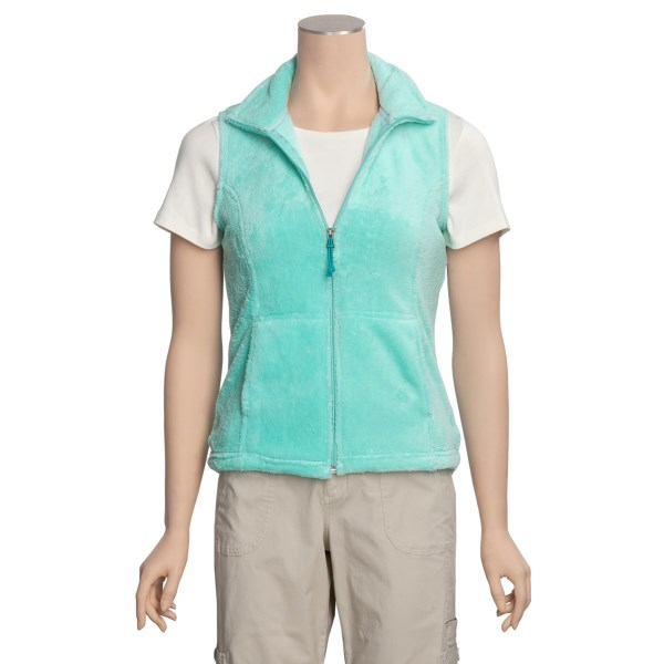 photo: White Sierra Cozy Vest fleece vest