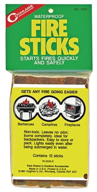 photo: Coghlan's Waterproof Fire Sticks fire starter