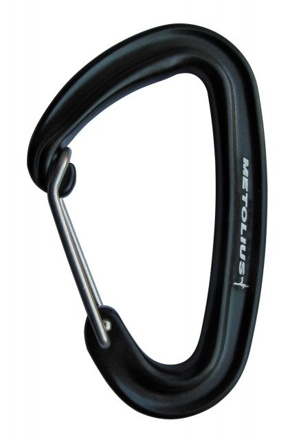 photo: Metolius Bravo Wiregate Carabiner non-locking carabiner