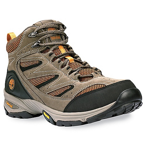 photo: Timberland Women's Ledge Mid Leather and Fabric Hiker hiking boot