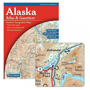photo: DeLorme Alaska Atlas & Gazetteer us pacific states paper map