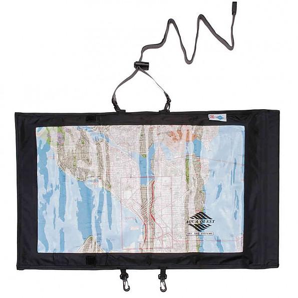 Aqua Quest Trail Map Case