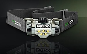 photo: ICON Irix II headlamp