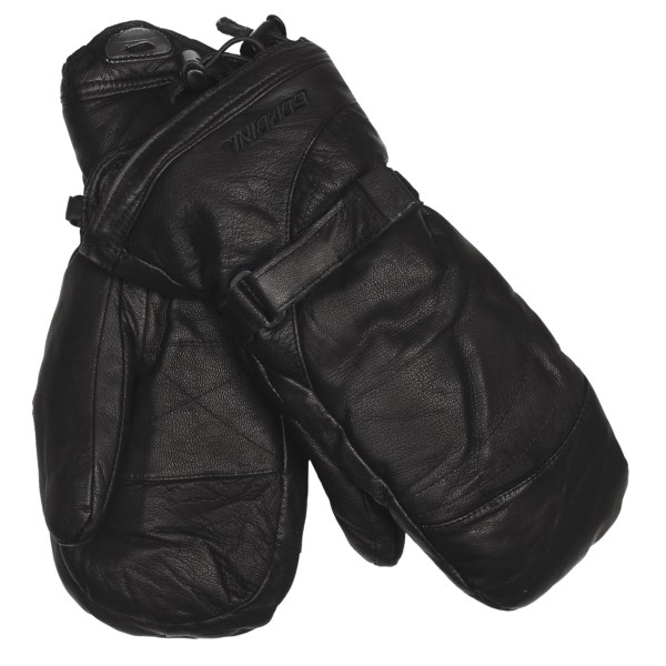 photo: Gordini Men's Leather Goose II Mitt insulated glove/mitten