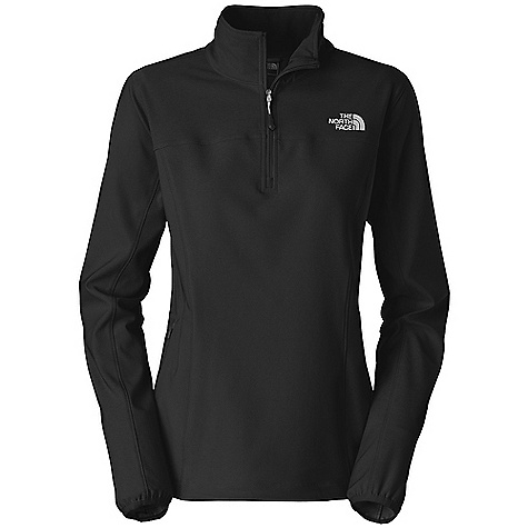 photo: The North Face Women's Nimble Zip Shirt long sleeve performance top