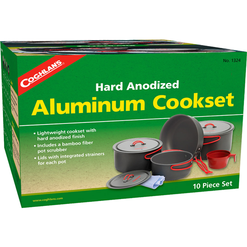 Coghlan's Hard Anodized Cook Set