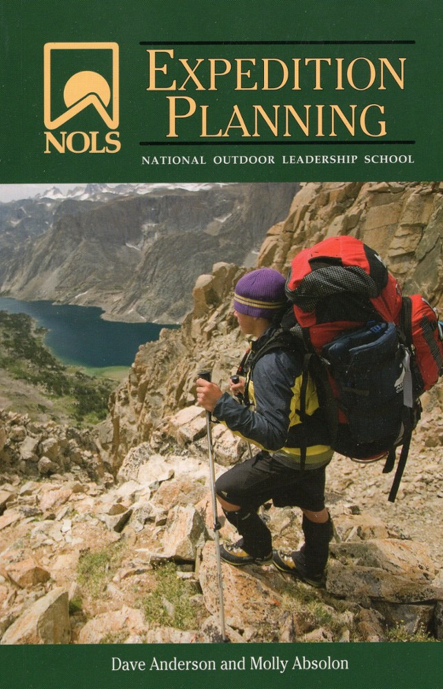 photo of a NOLS camping/hiking/backpacking book