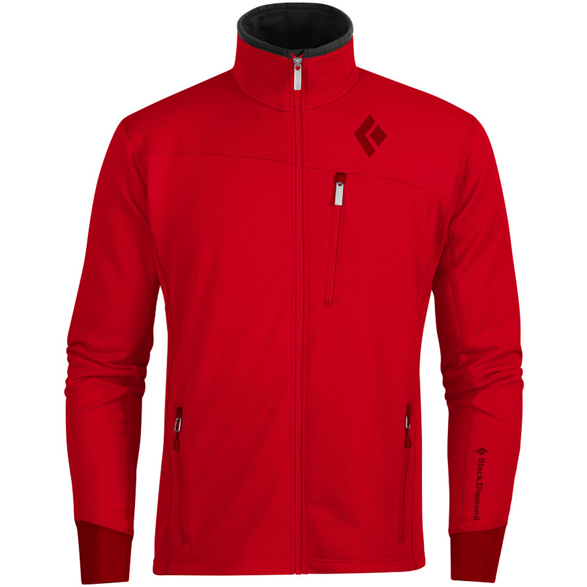 photo: Black Diamond Solution Jacket fleece jacket
