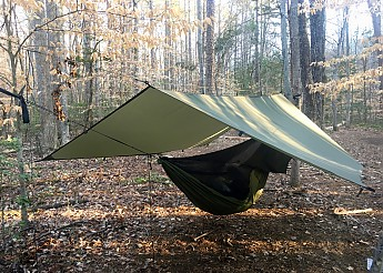 in my hammock for instance i could pitch the tarp high allowing me protection from a chance shower while also enabling me to enjoy the dawn stealing     aqua quest safari sil tarp square reviews   trailspace    rh   trailspace
