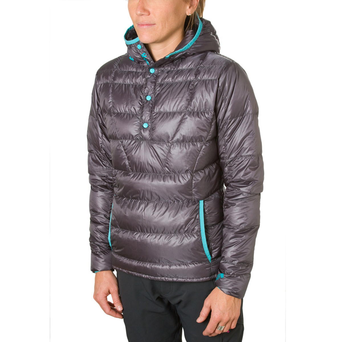 photo: Stoic Women's Hadron Down Anorak down insulated jacket