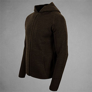 photo: TAD Praetorian Hoodie fleece top