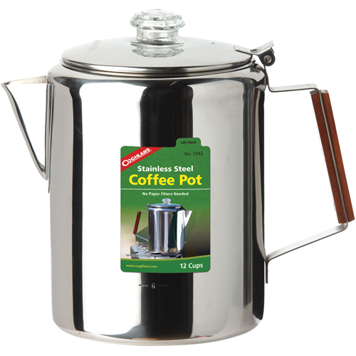 Coghlan's Stainless Steel Coffee Pot