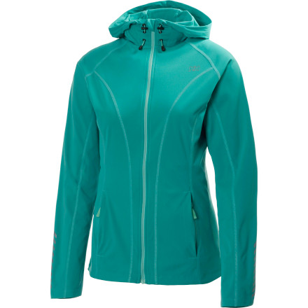 photo: Helly Hansen Pace Stretch Hoodie wind shirt