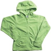 photo: Columbia Girls' Glacial Fleece Full Zip Hoodie fleece jacket