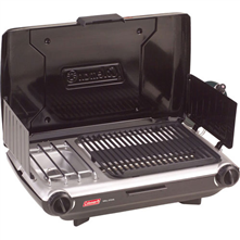 photo: Coleman PerfectFlow Grill Stove compressed fuel canister stove