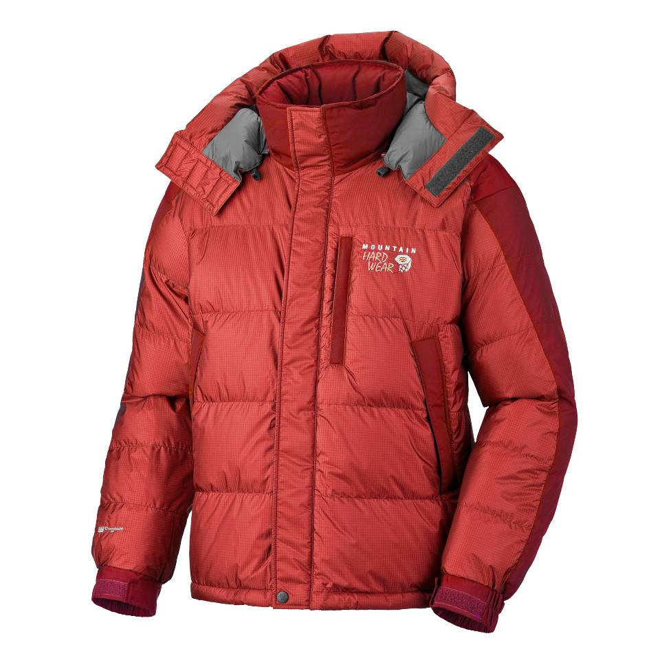 photo: Mountain Hardwear Men's Sub Zero SL Hooded Jacket down insulated jacket