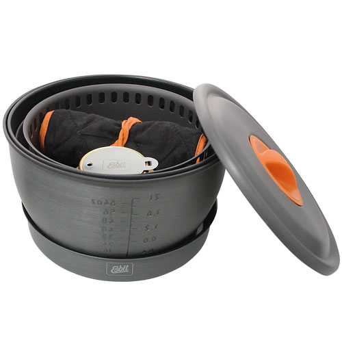 Esbit Alcohol Stove & Camp Cookset CS2350WN