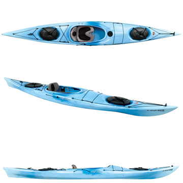 photo: Old Town Cayuga 146 touring kayak