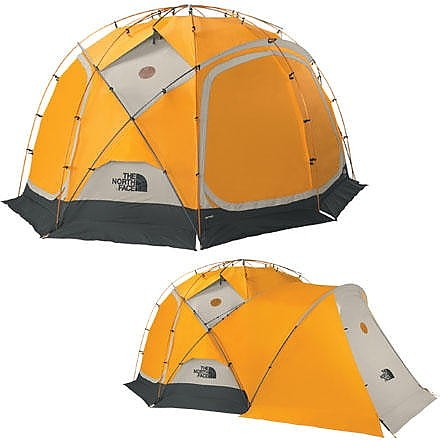 photo: The North Face Dome 8 four-season tent