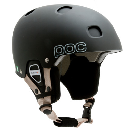 photo: POC Receptor BUG Audio Helmet snowsport helmet