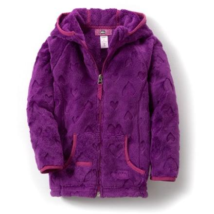 photo: REI Girls' Snowy Creek Fleece Jacket fleece jacket