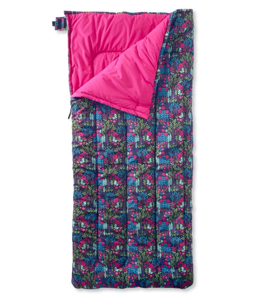 L.L.Bean Camp Sleeping Bag, Cotton-Blend-Lined Regular 40°